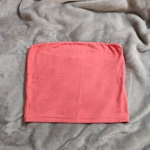 American Eagle Bright Pink Tube Top